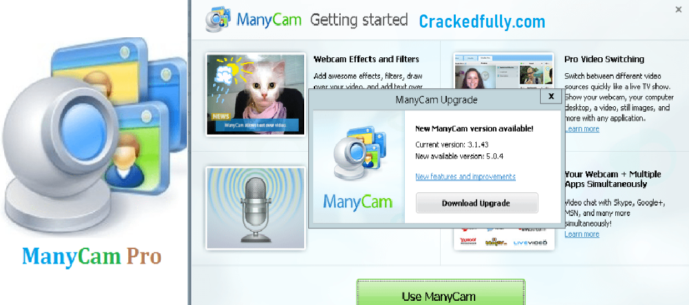 ManyCam Pro Free Download