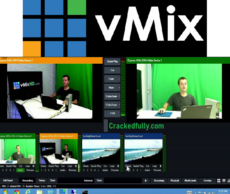 vMix Crack Free Download